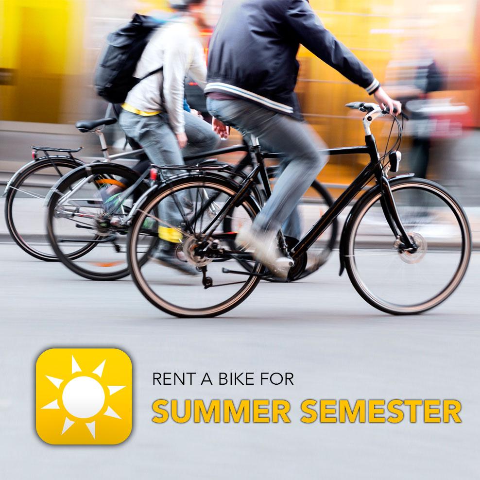 Rent a bike - Copenhagen - Summer semester 2016
